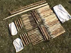 Holzzubehör Zelte