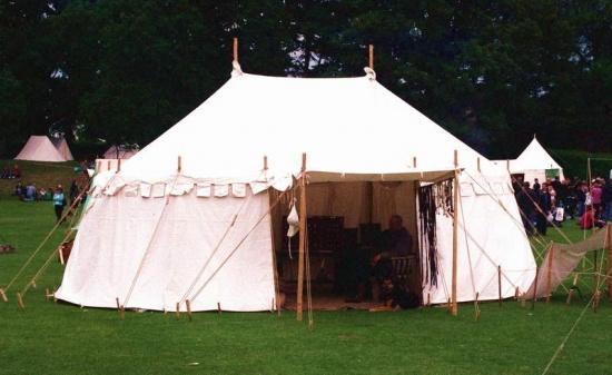 Bild  Mittelalterzelt LOUVRE (Modell ohne Vordach)