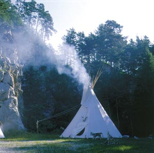 Bild  Tipi - das Indianerzelt