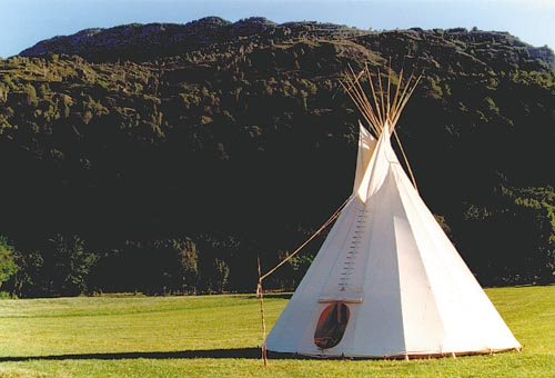 Tipi - das Indianerzelt